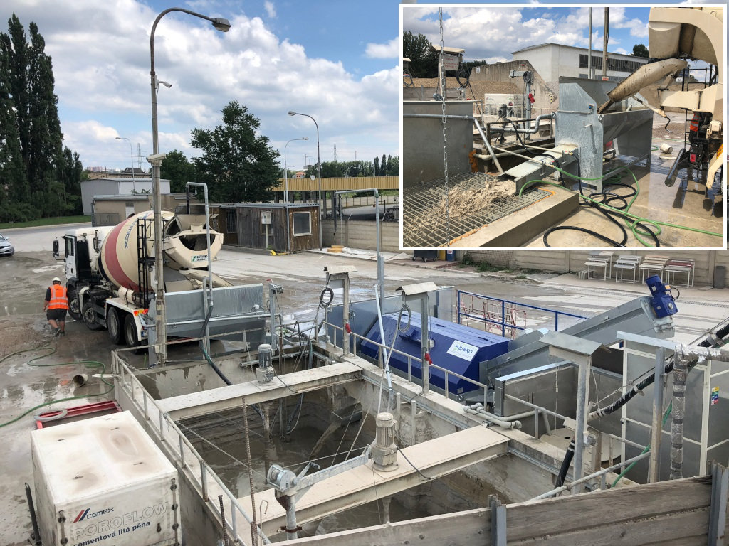 New recycling plant BIBKO Comtec in Brno