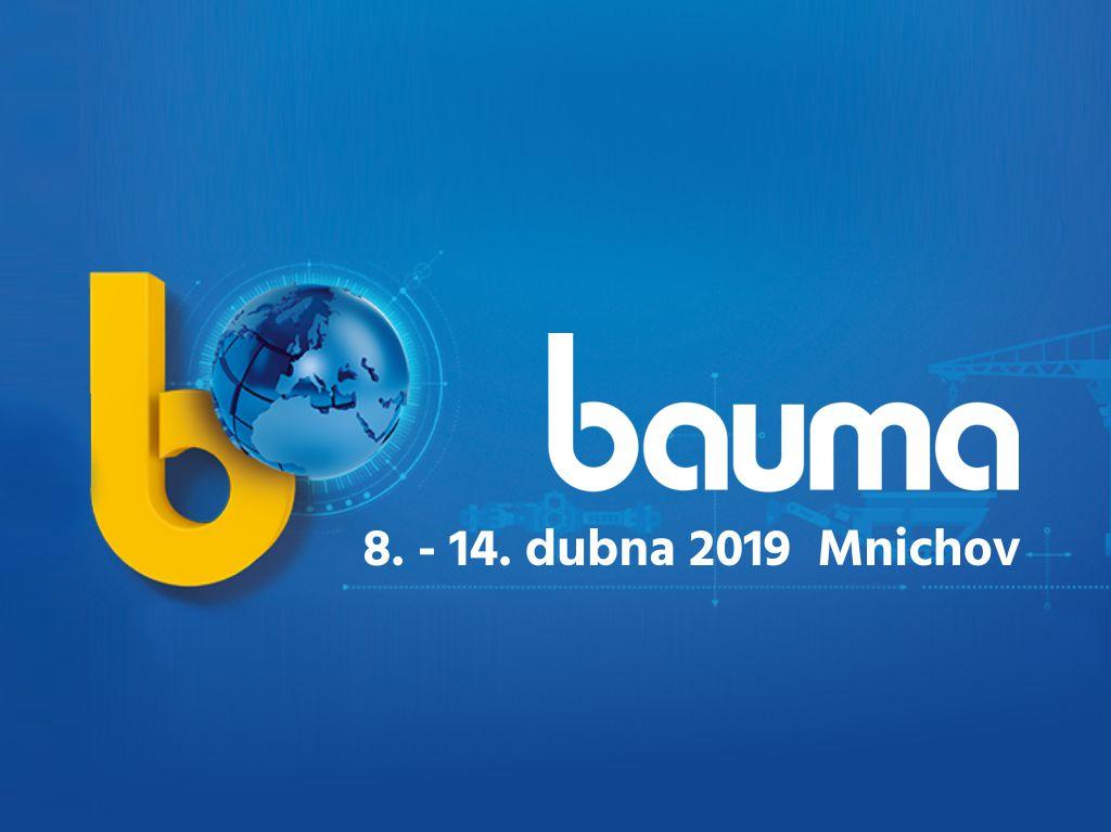 Pozvánka na veletrh bauma2019